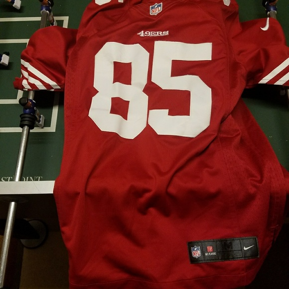 49ers Vernon Davis Jersey